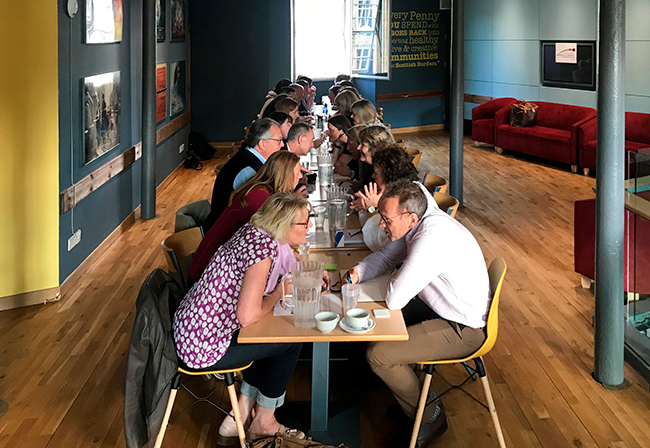 Speed Networking event at Heart of Hawick