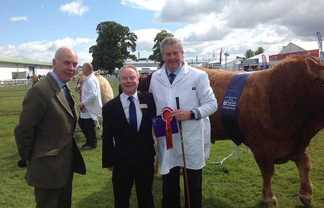 Representing the Chamber at the Royal Highland Show