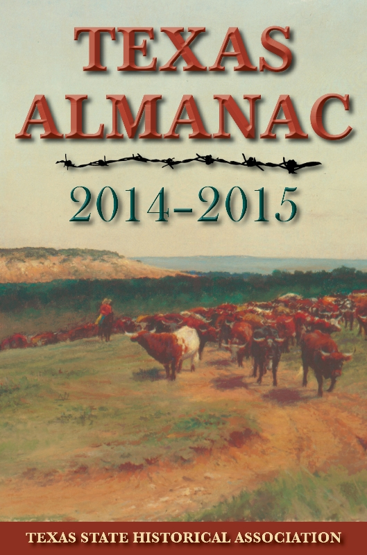 Texas Almanac 2014-2015 cover