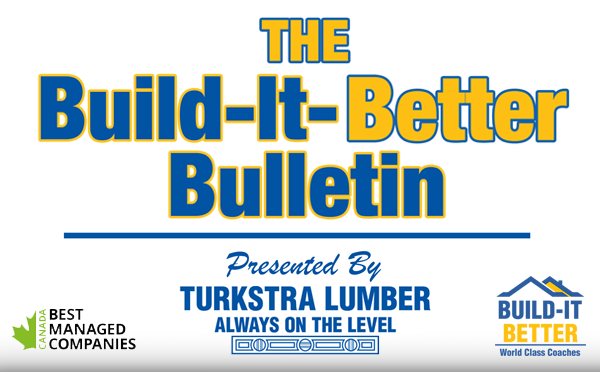 Build-It-Better Bulletin