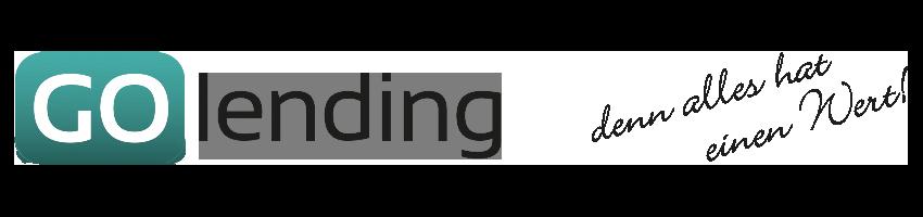GoLending – denn alles hat einen Wert!