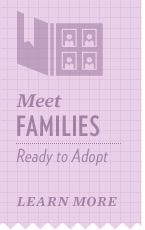 Meet ready to adopt families