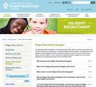 Screen shot of Diligent Recruitment Navigator page