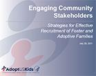 Engaging Community Stakeholders