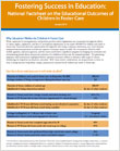 National Factsheet on the Educational Outcomes of Children in Foster Care