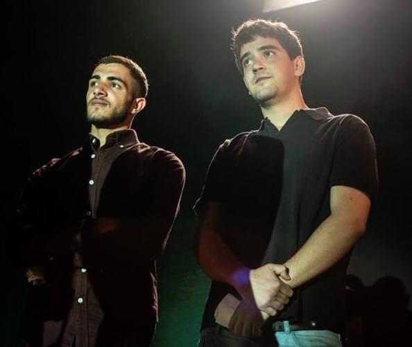 Arab Aramin and Yigal Elhanan, 2016 Memorial Day Ceremony