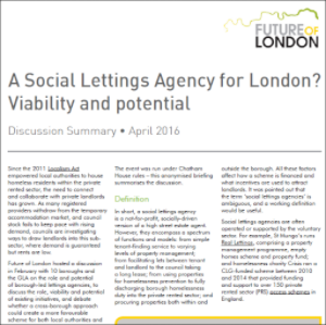 Social lettings agencies