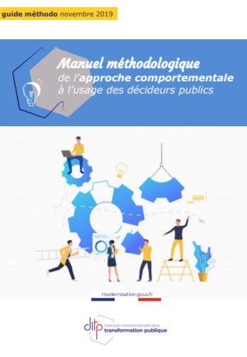 Manuel méthodologique de l'approche comportementale à l'usage des décideurs publics