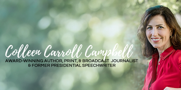 Author Colleen Carroll Campbell