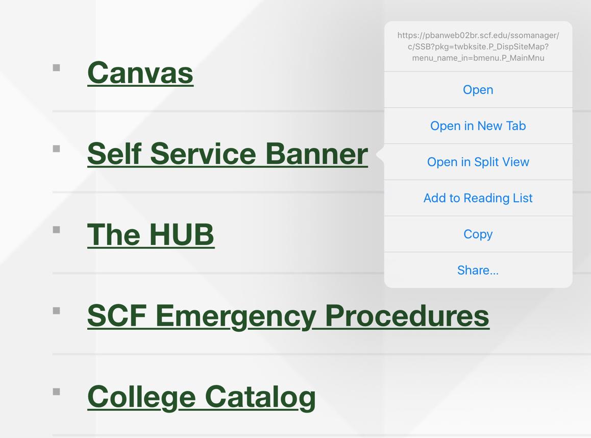 Self Service Banner picture
