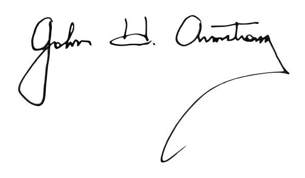 John Armstrong Signature