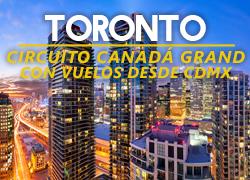 Circuito a Toronto, Canadá