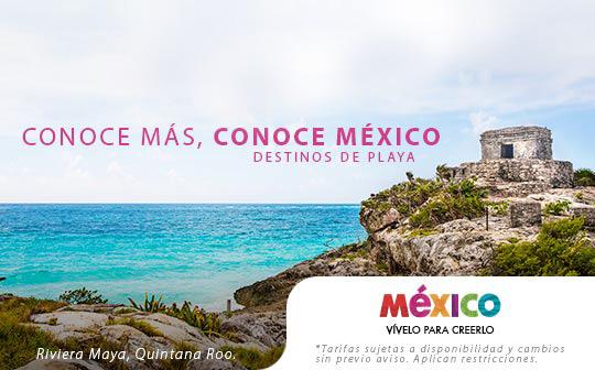 Conoce México | Destinos de Playa