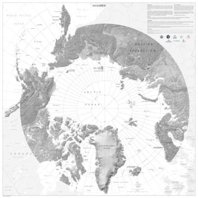 ArcticDEM Cartographic Map