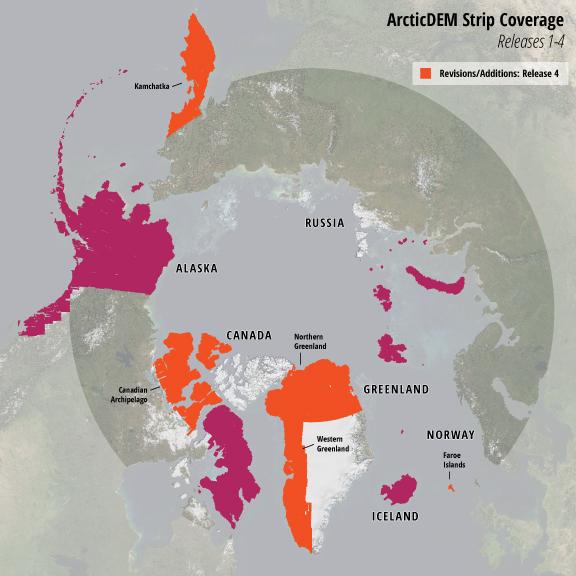 Franz Josef Land ArcticDEM