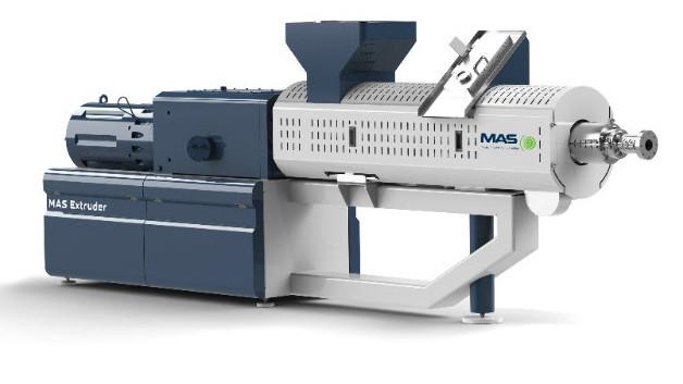 MAS 75 Extruder - new design at the show!