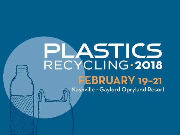 Join eFACTOR3 at Plastics Recycling 2018, BOOTH 600