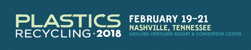 Hope to see you in Nashville in February for Plastics Recycling 2018