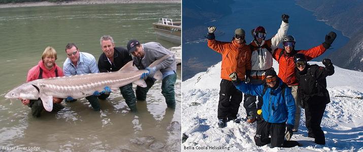 туры хелиски и рыбалка