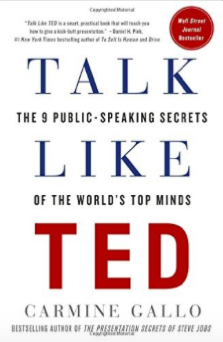Talk like Ted book recommendation