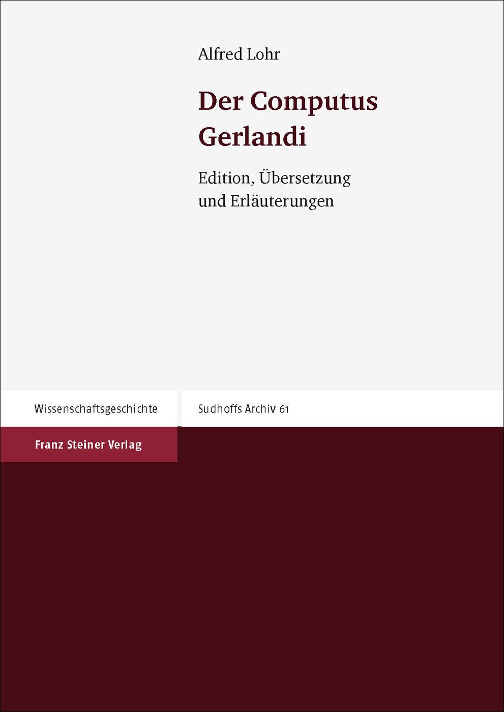 Der Computus Gerlandi
