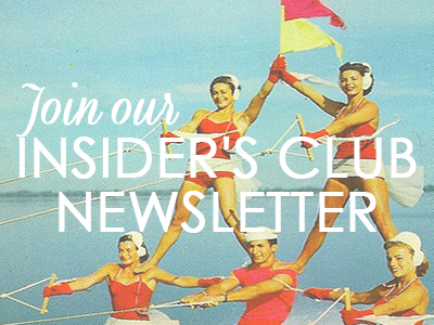 Join Our Insider's Club Newsletter