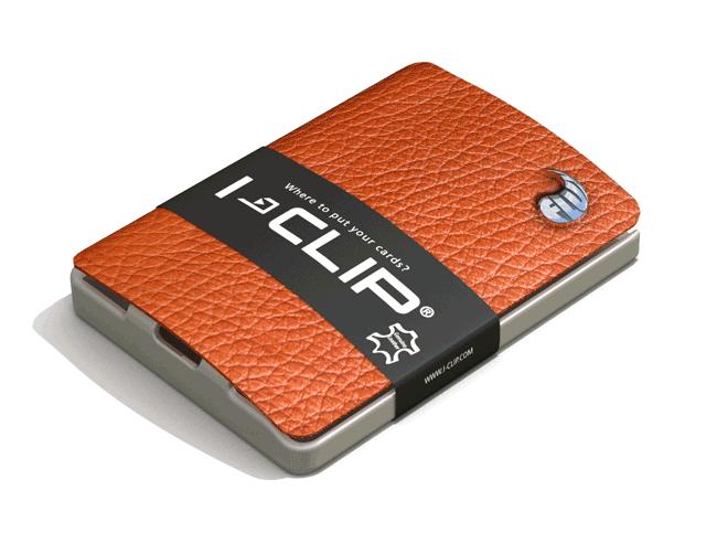 I-Clip Tan Wallet