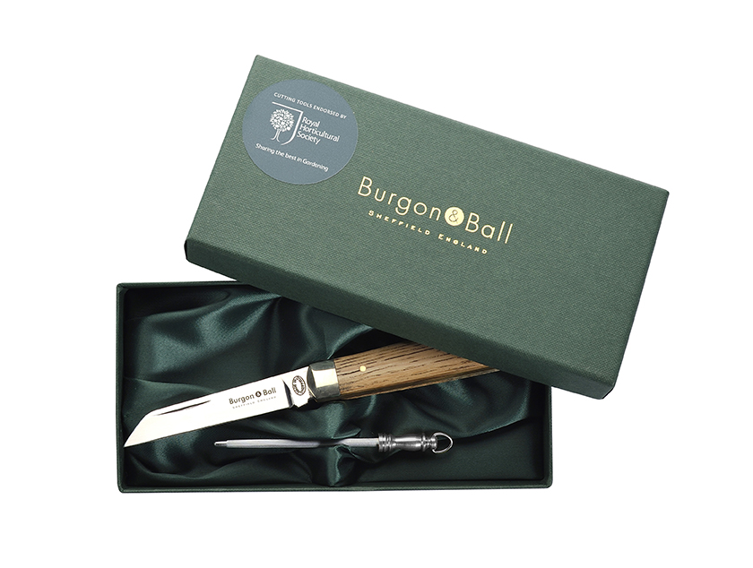 Burgon & Ball Folding Pocket Knife and Steel
