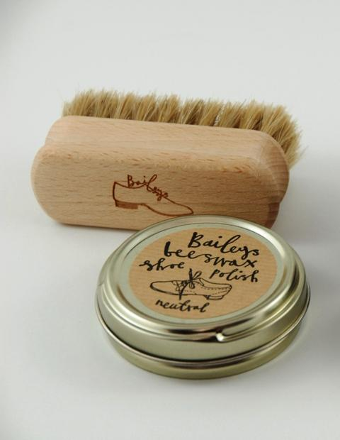 Bailey's Shoe and Brush Polish Kit