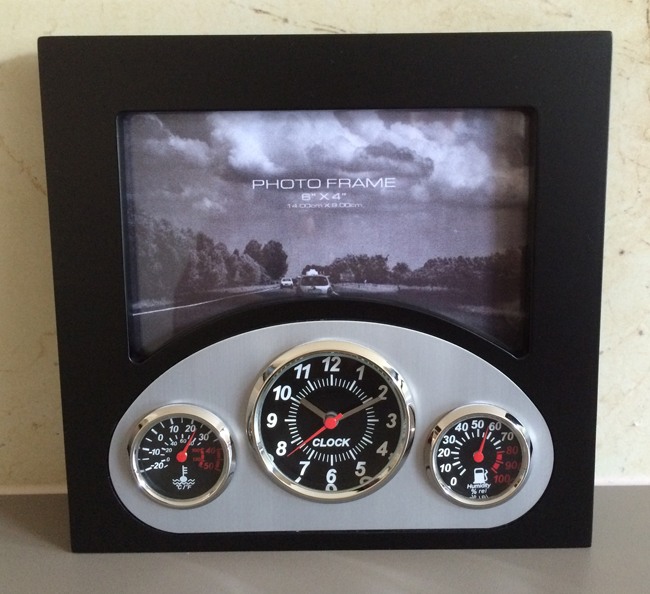 Vintage Dashboard Photo Frame
