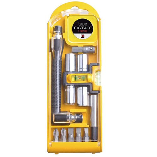 Essential 15 piece tool set