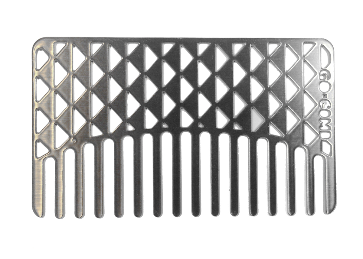 go-comb Facets Stainless Steel