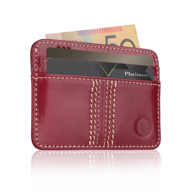 The Game Slip Leather Wallet