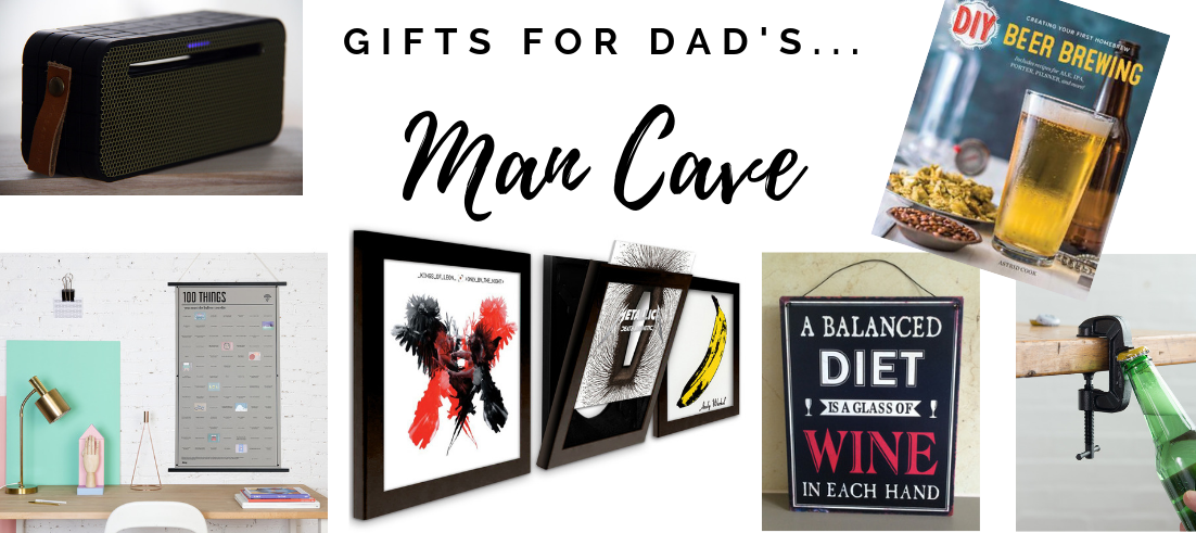 Gifts for Dad's Man Cave