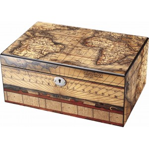 Sophisti-Case Globus Luxury Lacquered Box