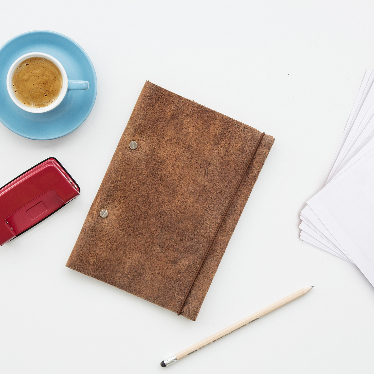 Suck UK Create your own leather notebook