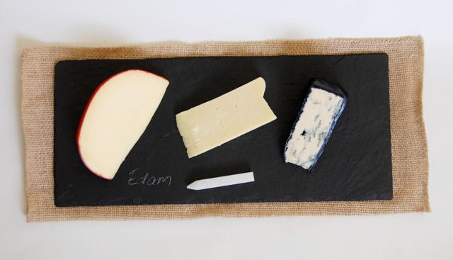 Slate Cheese Tray with Chalk Pen
