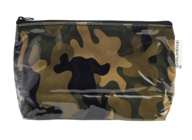Camo Army Toilet Bag