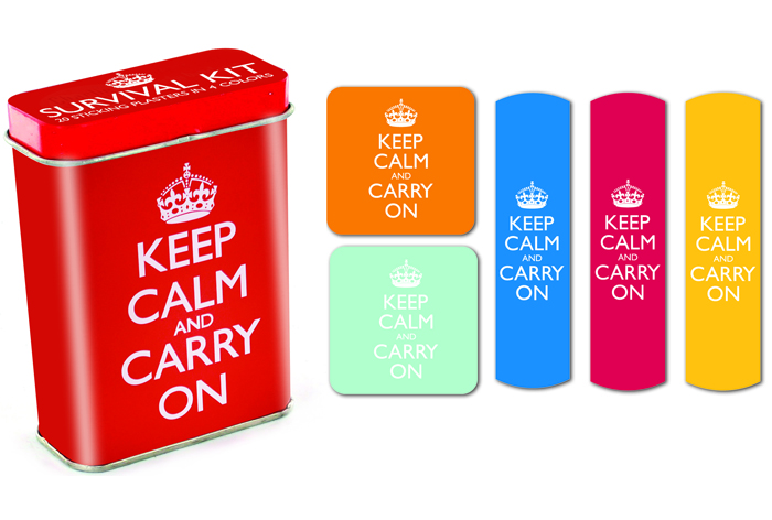 Keep Calm BandAid Kit