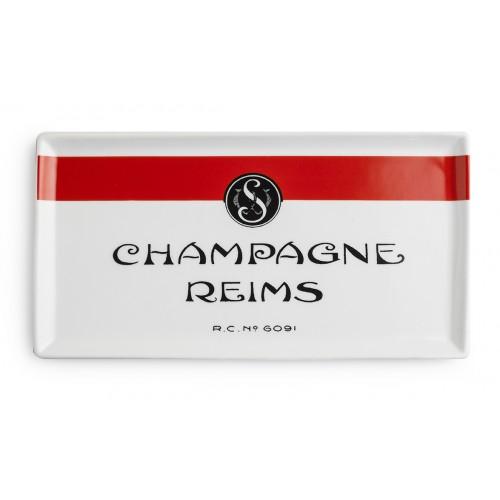 Rosanna Voyage Champagne Reims Porcelain Tray
