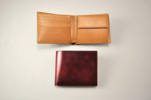 YMMN Wallet in ruby red
