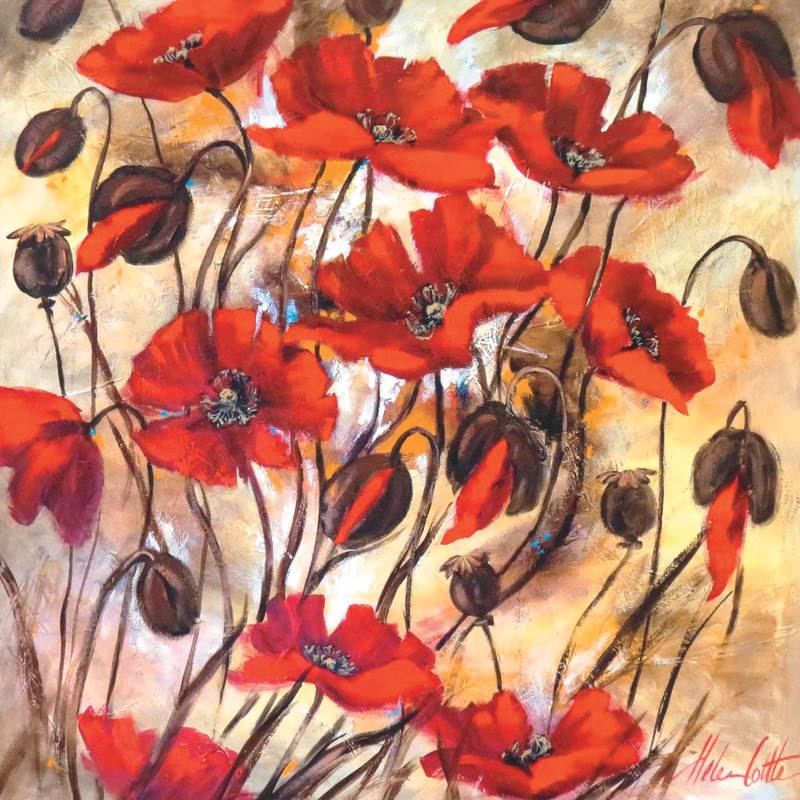Rhapsody in Red by Helen Cottle