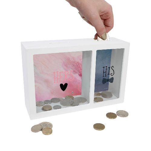 His and Hers Money Box