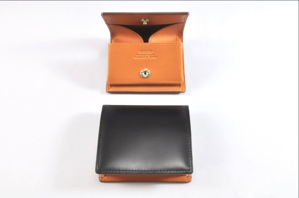 YMMN Leather Fold-Out Coin Pouch