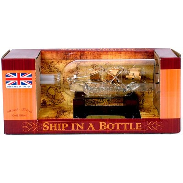 Bounty Ship in a Bottle