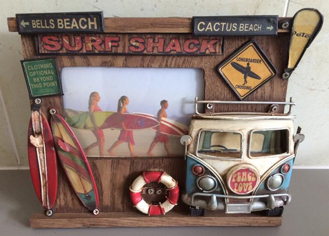 Surf Shack Photo Frame