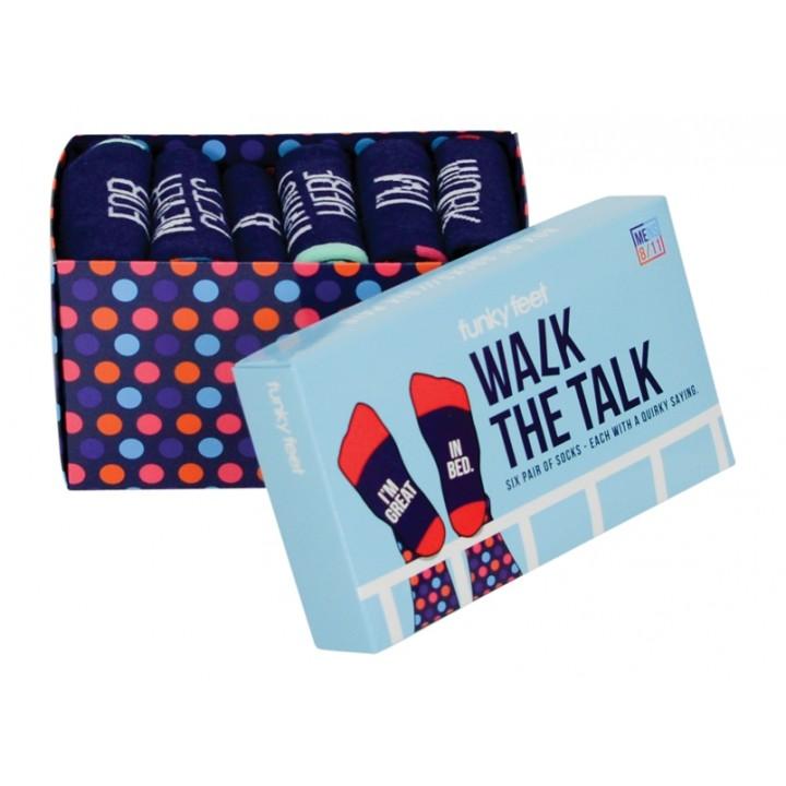 Walk the Talk socks
