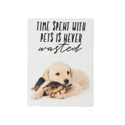 Time Spent with Pets magnet