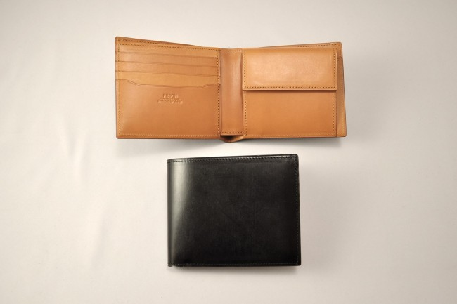 YMMN Black Leather Wallet