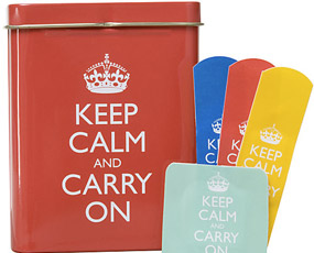 Keep Calm Band Aid Kit